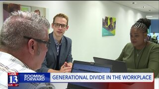 Booming Forward: Generational divides in the workplace