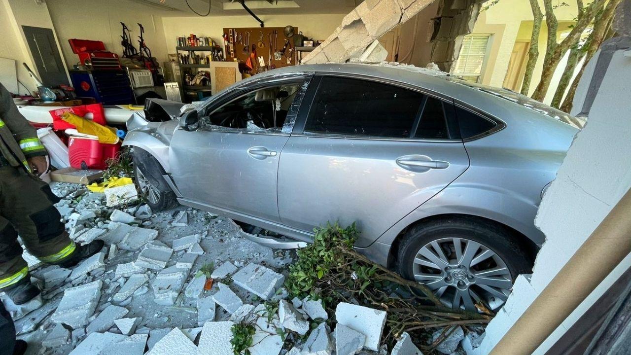 pasco car into garage fire rescue.jpg