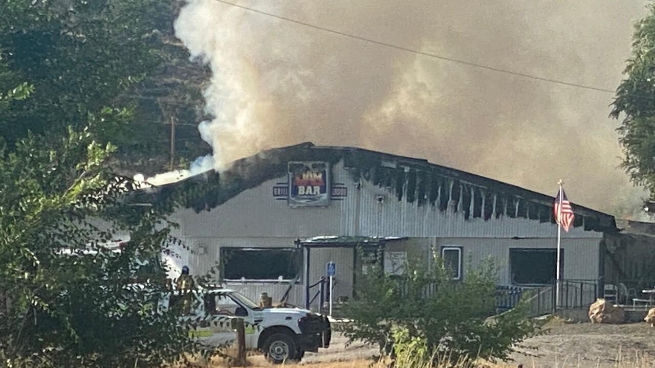 Dam Bar fire 3