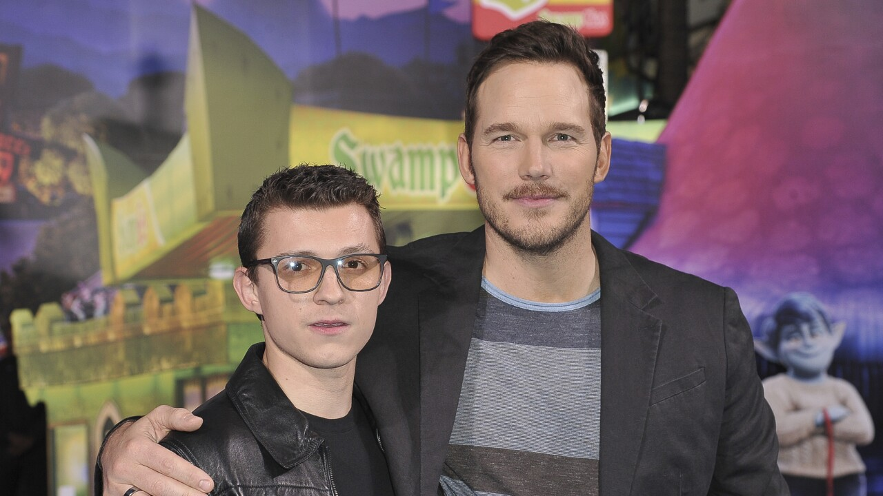 Tom Holland, Chris Pratt