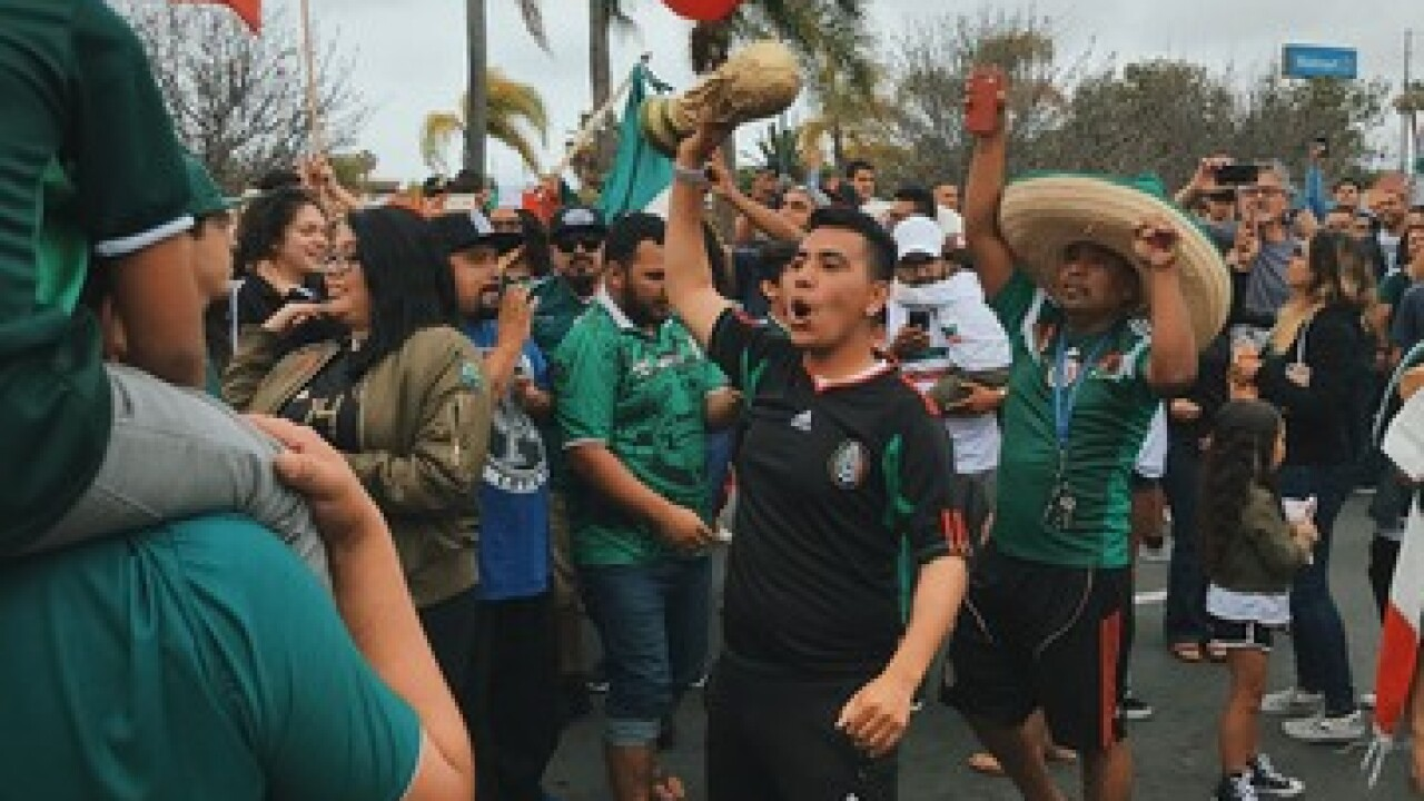 Soccer fans urged to not celebrate in streets