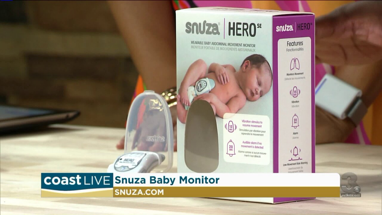 Smart new technology for new parents on Coast Live