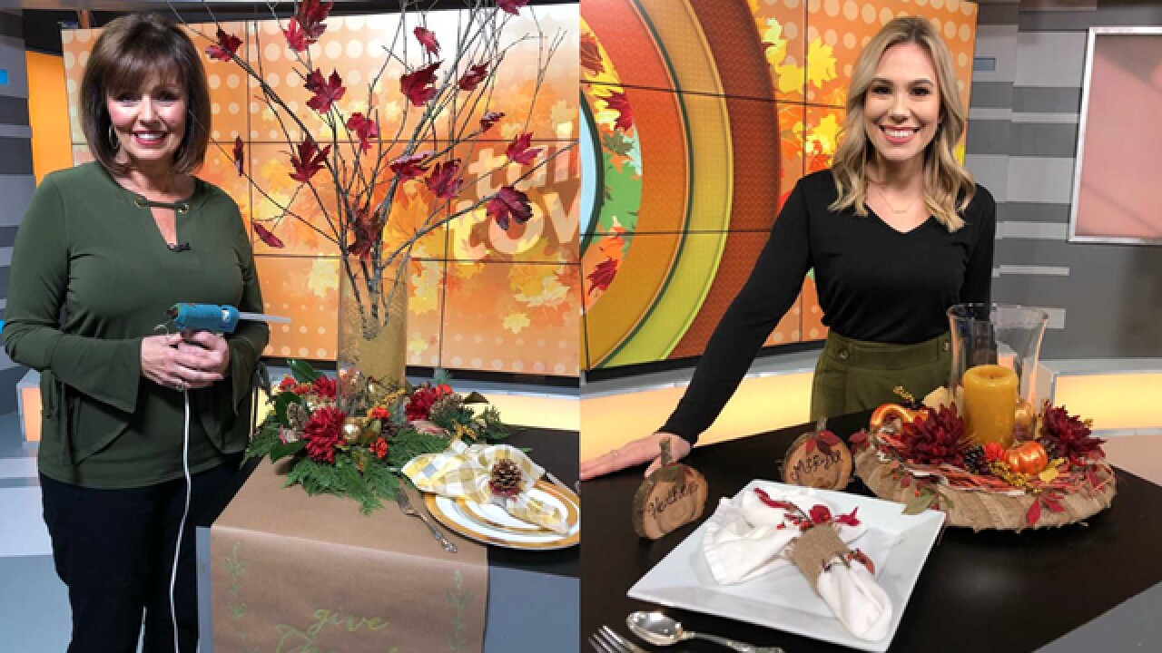 Craft Wars: Creating a Thanksgiving centerpiece on a budget