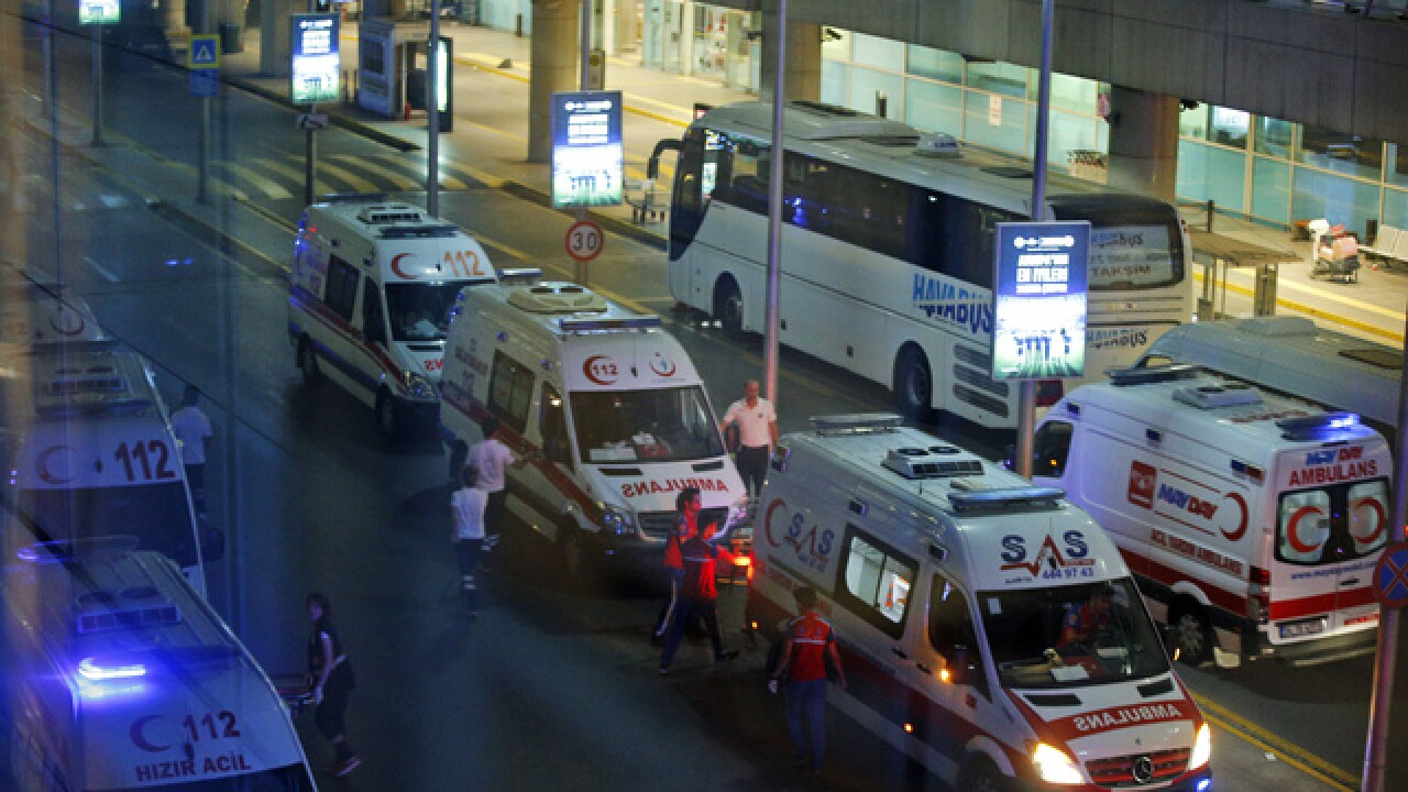 PHOTOS: Terror attack kills 28 at Turkey airport
