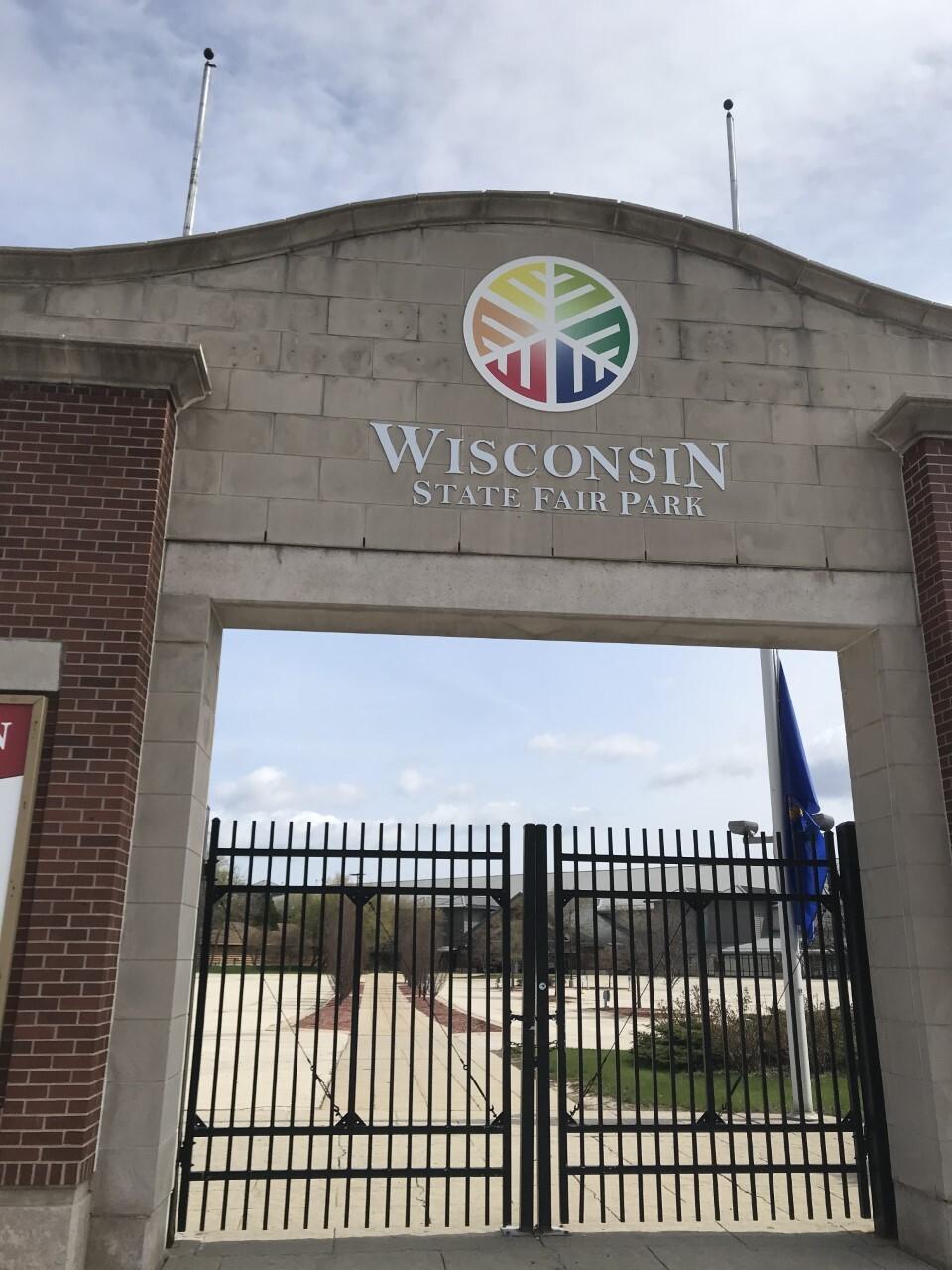 Wisconsin State Fair gates