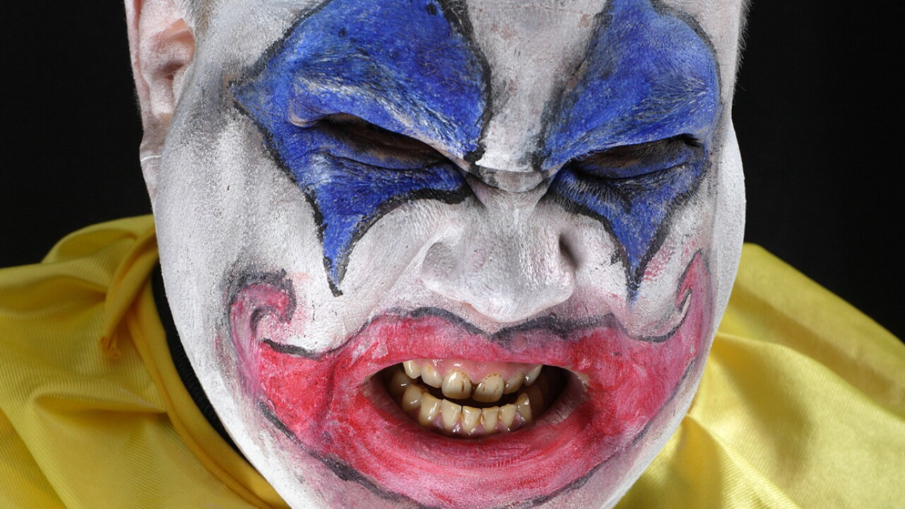 Man cited after 911 calls about clown carrying machete near Weber County school