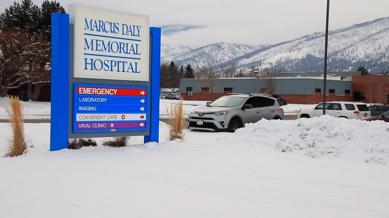 Marcus Daly Memorial Hospital Winter