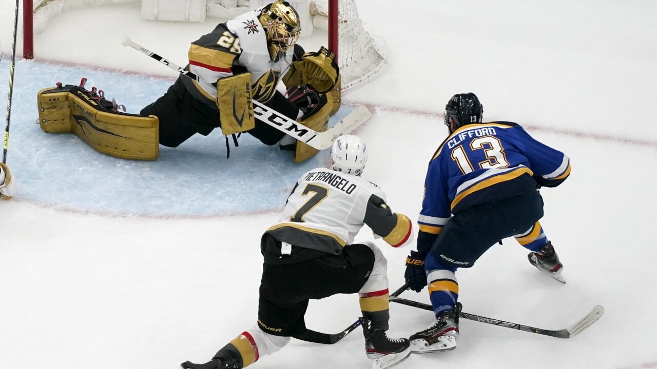 Golden Knights Blues Hockey