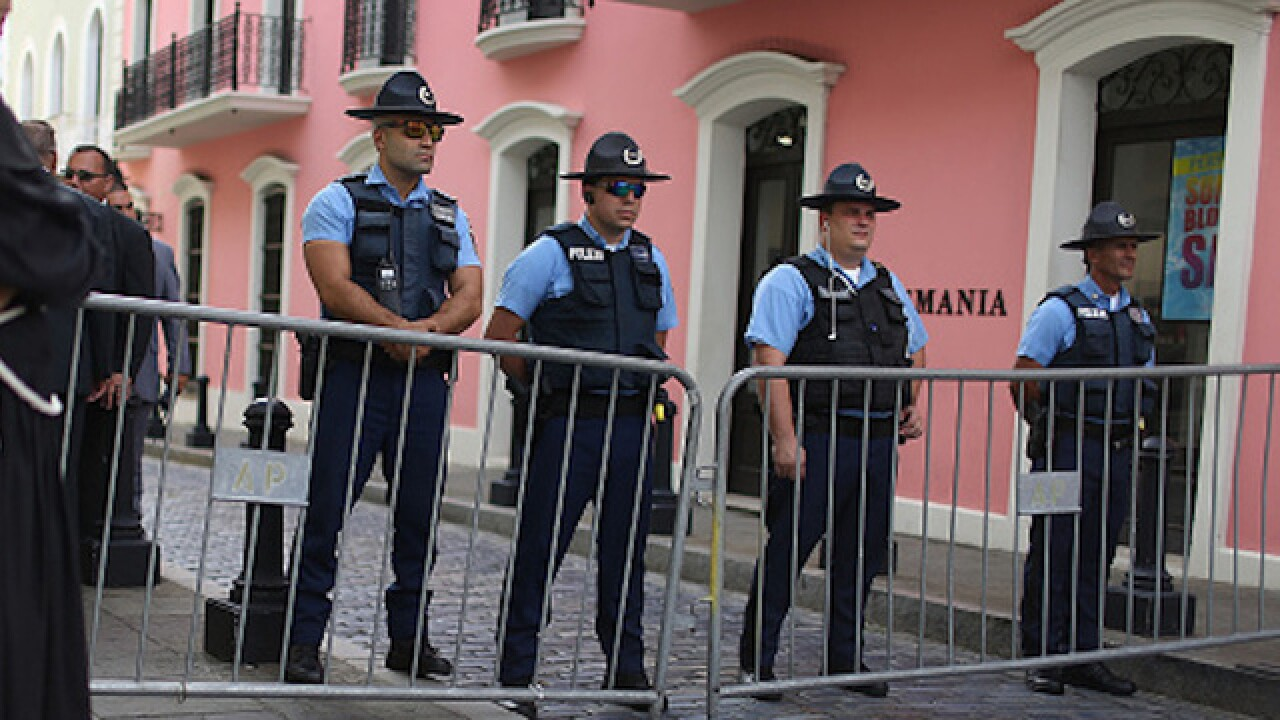 Puerto Rico policeman fatally shoots 3 officers
