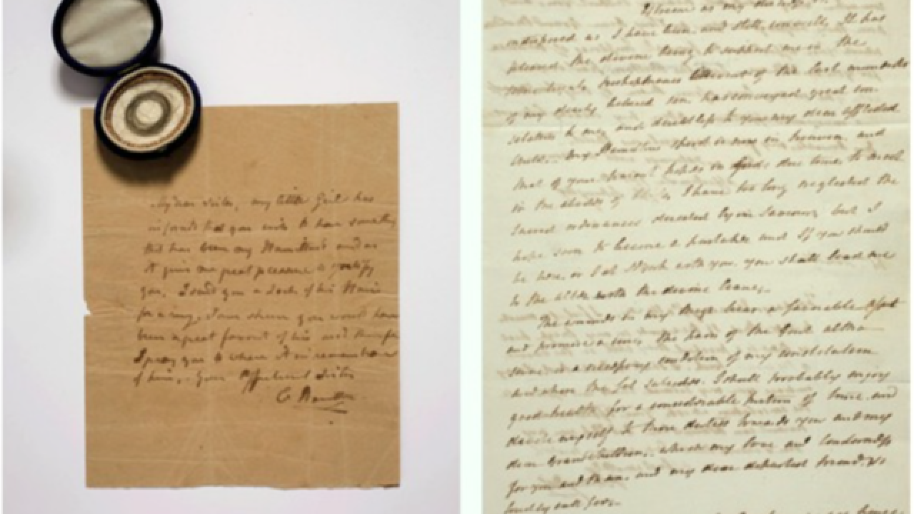 Alexander Hamilton letters fetch high price at auction