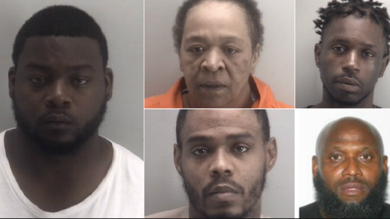 Richmond Police obtain five indictments for homicides throughout the city