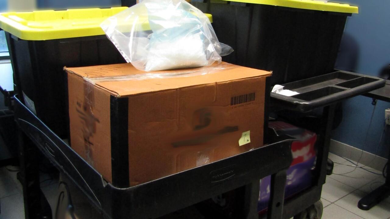 200KG of suspected meth worth more than $25M seized at Ambassador Bridge