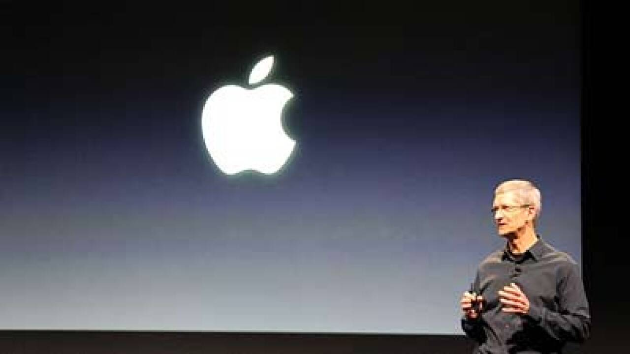Apple unveils new, thinner iPhone 5