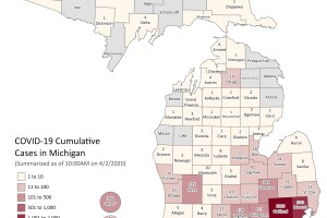 Michigan cases April 2