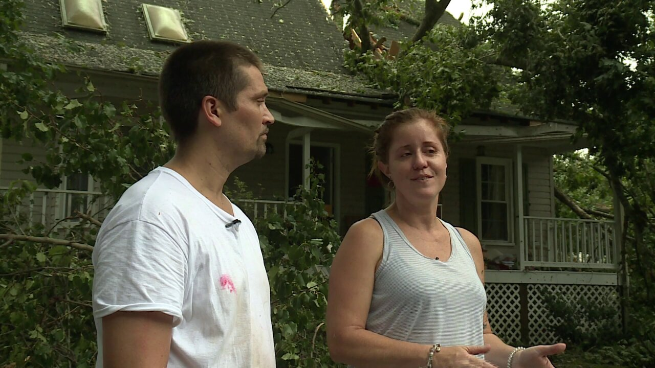 Chesterfield family loses home in tornado outbreak: 'We still have each other'