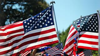 File image: American Flags