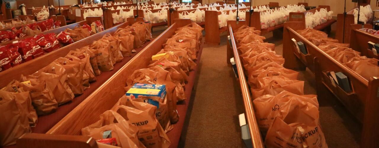 Neighbor2Neighbor Food Distribution