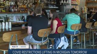 West Michigan businesses prep for full opening