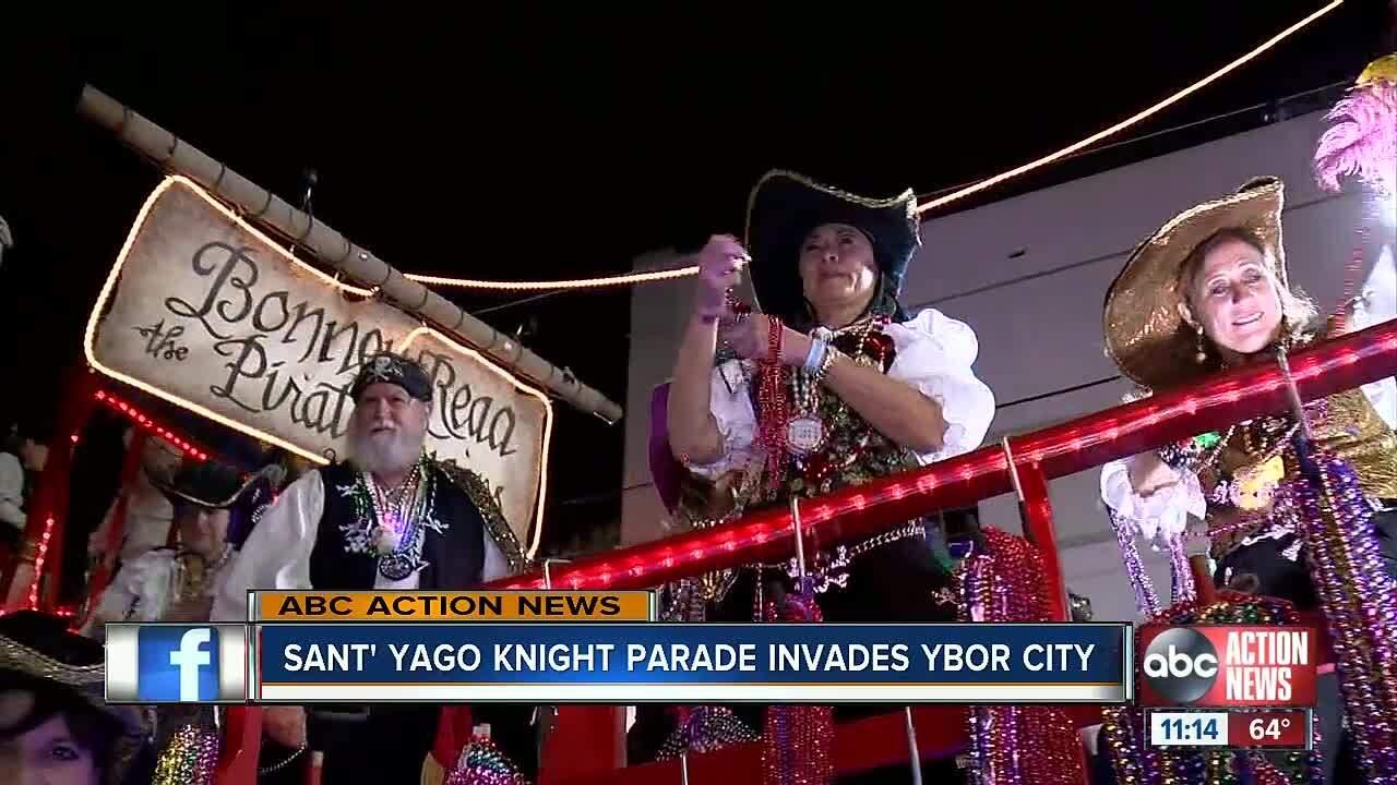 Knight Parade in Ybor City