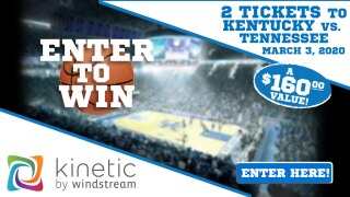 Enter the Kinetic by Windstream Giveaway for your chance to win two tickets to the Kentucky vs Tennessee game!