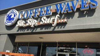 Full-time pastor keeping Flour Bluff's Coffee Waves open