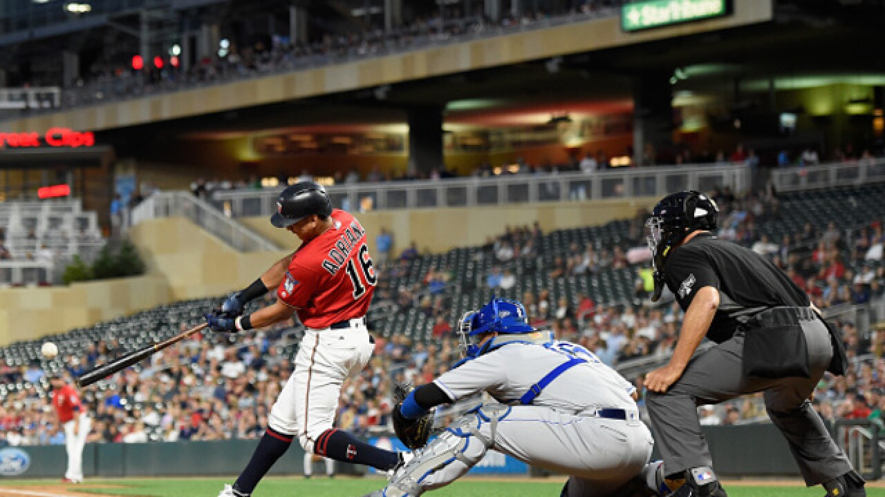 Twins pound Royals 10-6 at Target Field