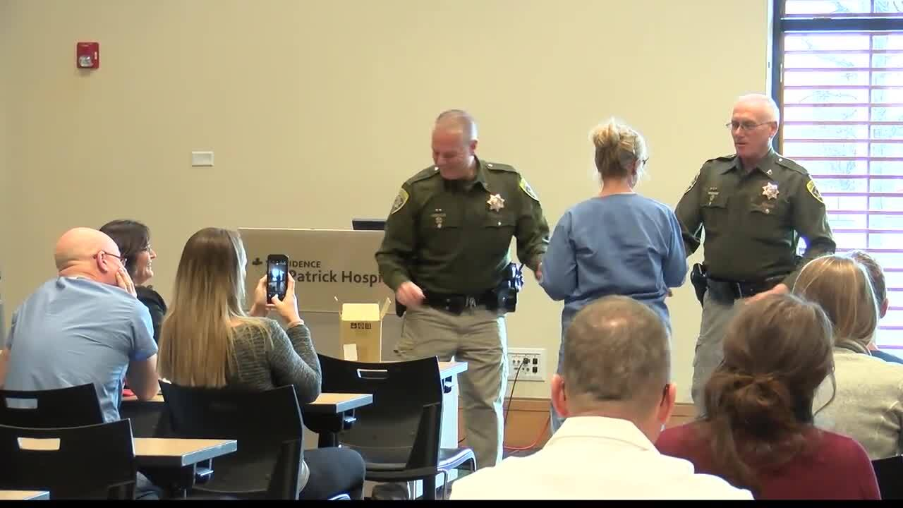 St. Patrick Hospital caregivers honored by Montana Highway Patrol
