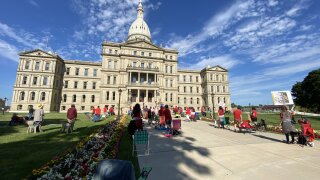 Michigan teachers gather in Lansing today to protest reopening schools
