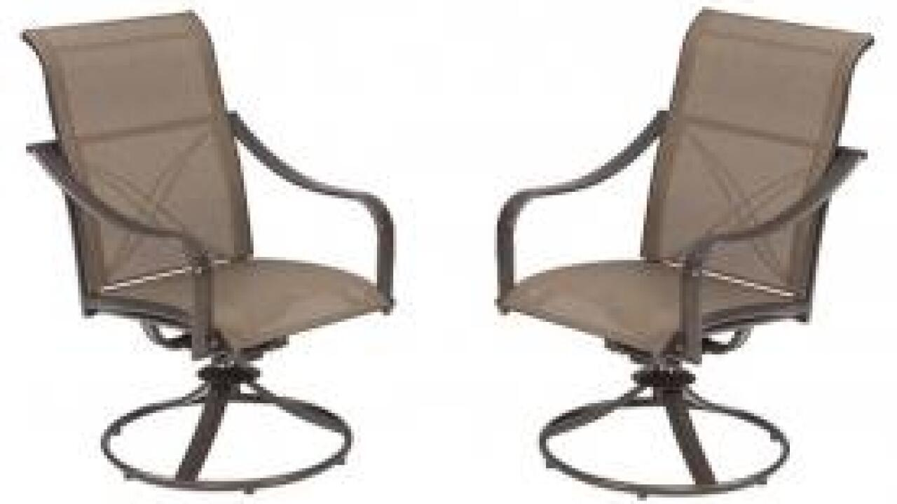 Patio chairs sold at Home Depot recalled due to fall hazard