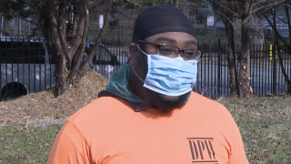 New DPW crew member reflects on first day of restoration of curbside recycling pickup