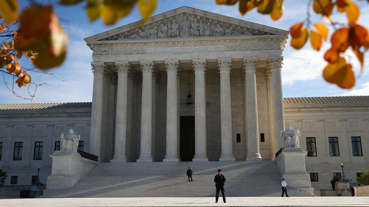 Investiture Ceremony Held At U.S. Supreme Court For Justice Brett Kavanaugh