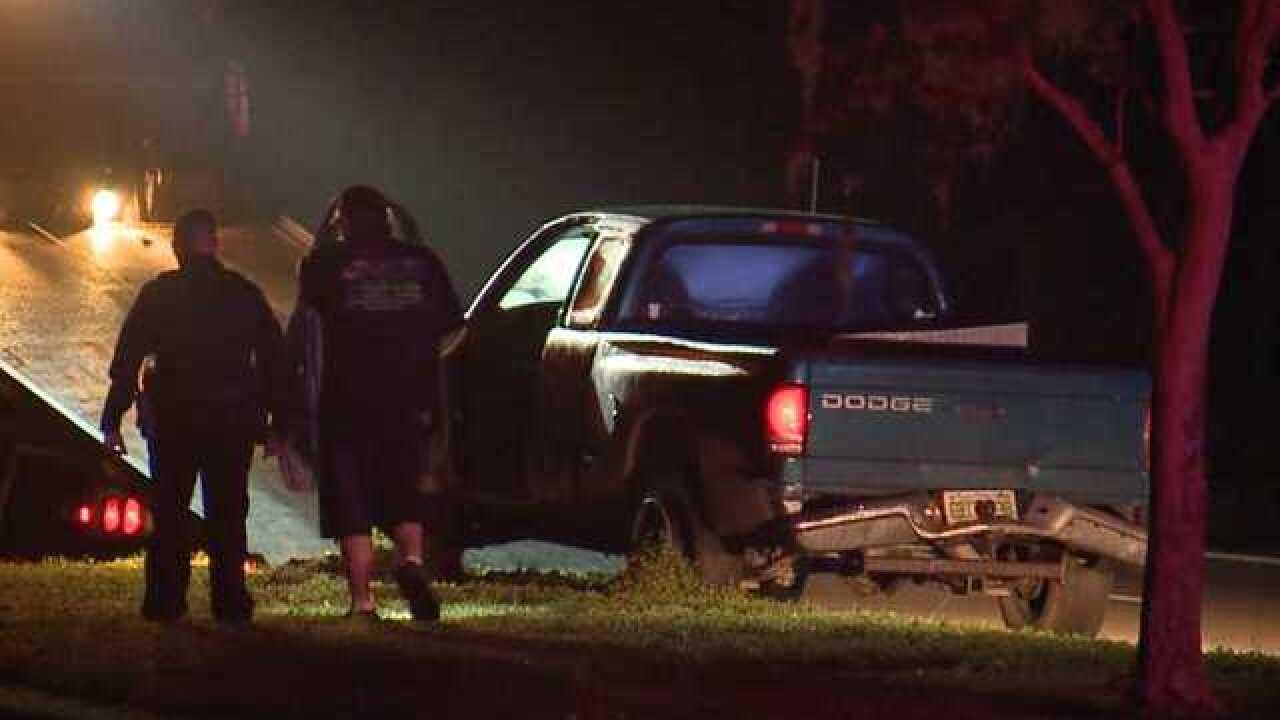LCSO investigates early morning crash