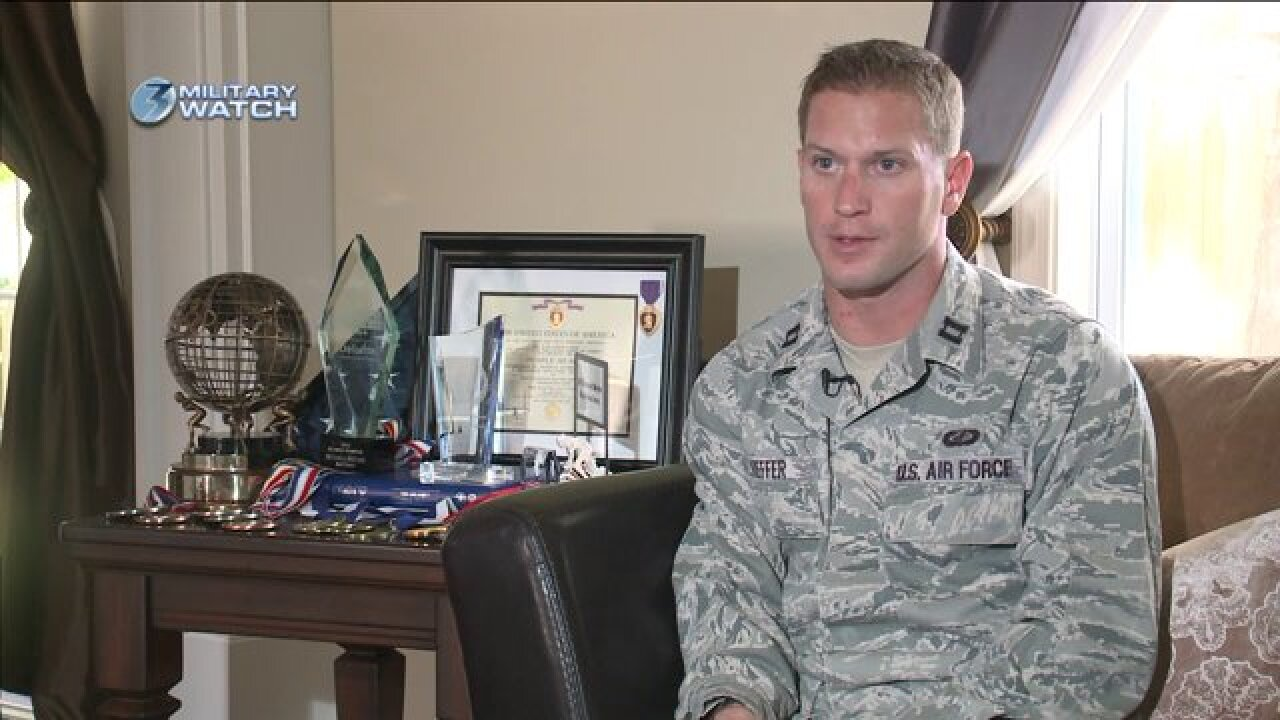 Virginia Beach Air Force Captain is back-to-back 'UltimateChampion'