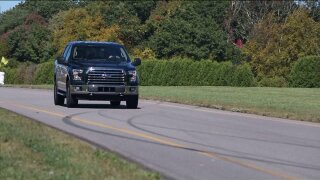 Consumer Reports' engineers get first hand look at Ford's all-new F-150pickup