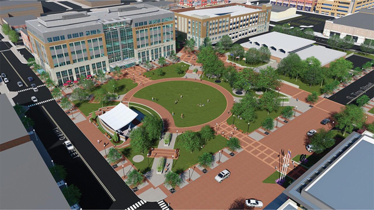 Ground breaking of $37M Royal Oak office buildin