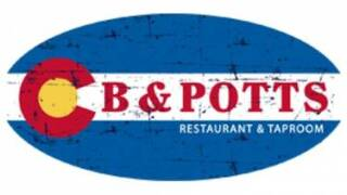 cb & Potts logo
