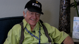 Bobby Ussery smiles as he reflects on Hall of Fame jockey career