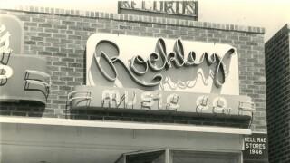 Mel and Newton Rockley  1946 Mel.jpg