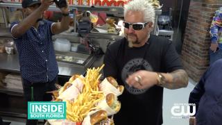 Celebrity Chef Guy Fieri Opens Chicken Guy at AventuraMall