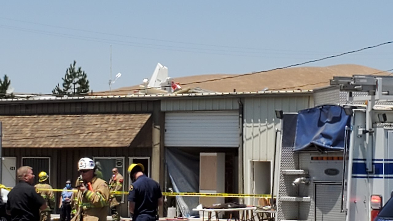 Plane crash in Tehachapi