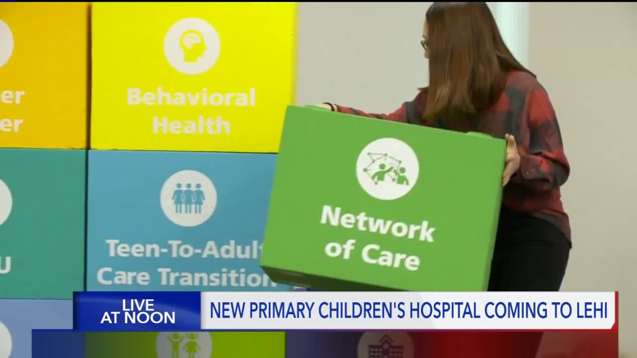 Second campus of Primary Children's Hospital to be built inLehi