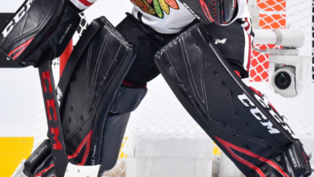 Accountant Steps In As Goalie For Blackhawks Has Incredible Game