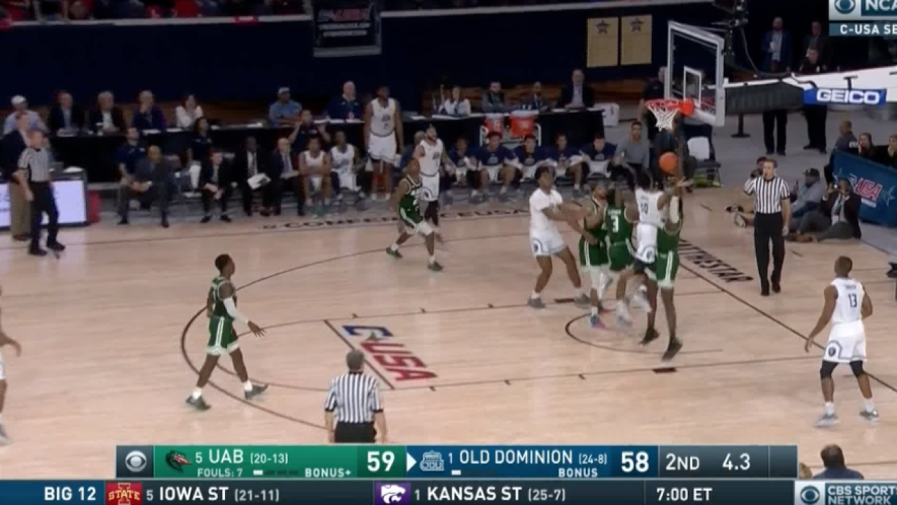 WATCH: Xavier Green's game-winning shot propels ODU to C-USA title game