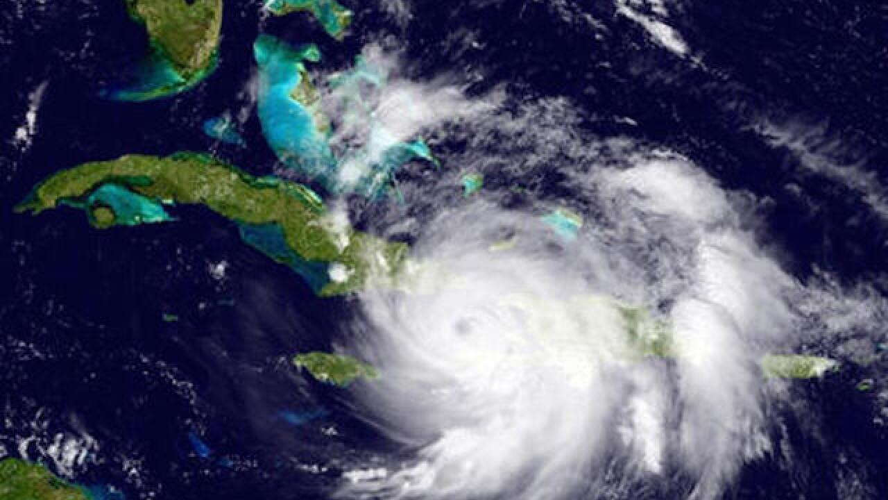 Matthew rages towards Bahamas