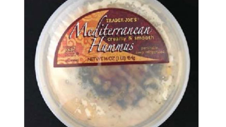 Trader Joe's hummus recalled after Listeria concern