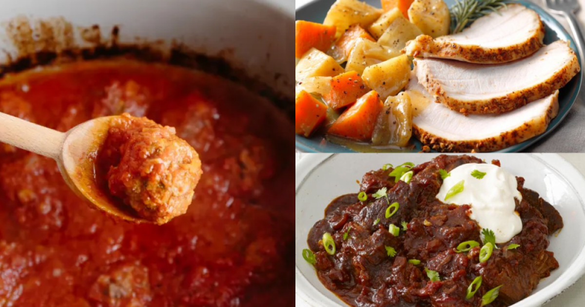 Quick and easy slow cooker recipes for busy families