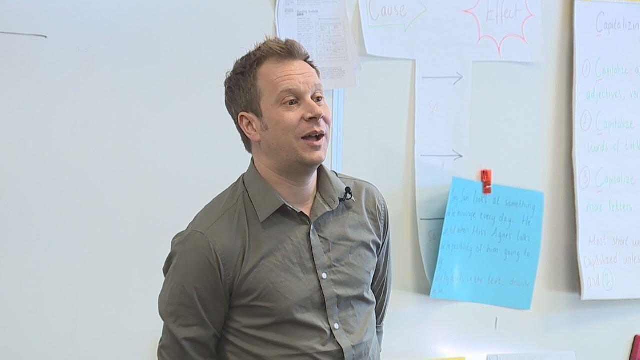 Teacher Gareth Dale