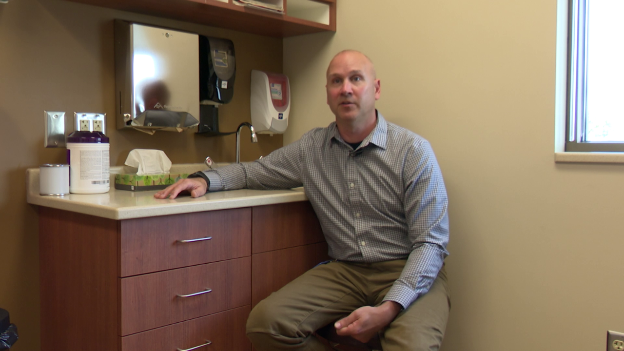 Dr. Brad Nieset is the Benefis post-COVID recovery program manager