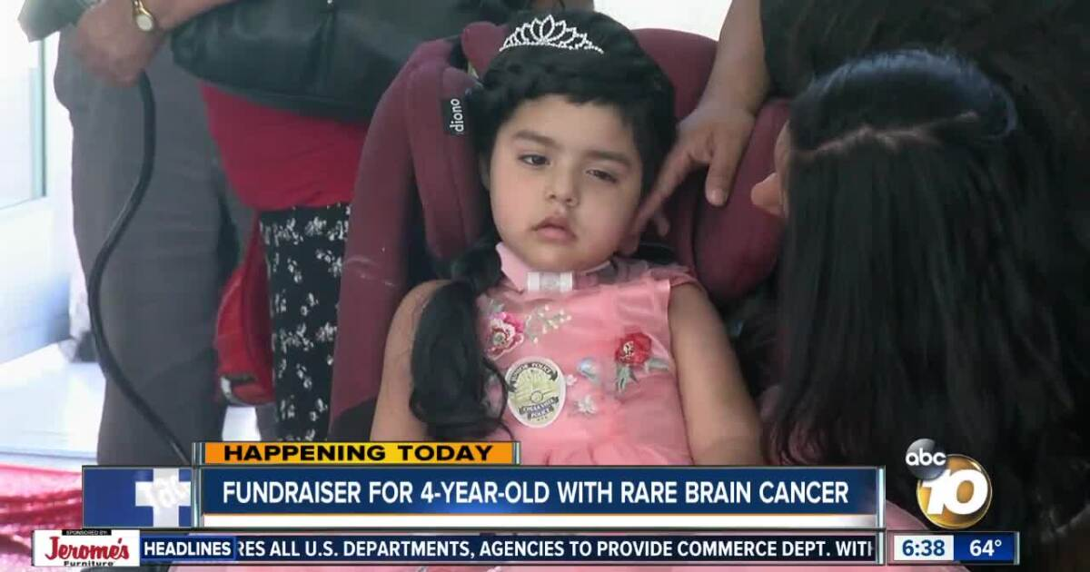Fundraiser being held for girl with rare brain cancer