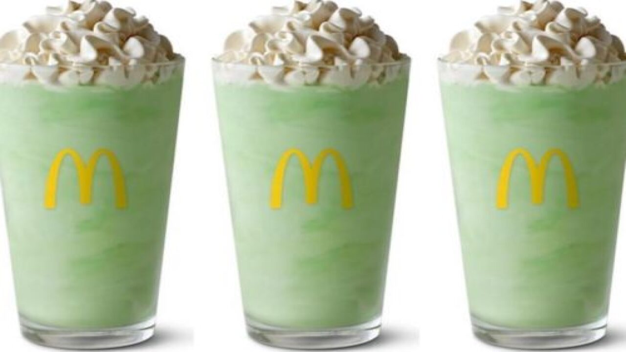 McDonald's Shamrock Shake Is Coming Back Early This Year
